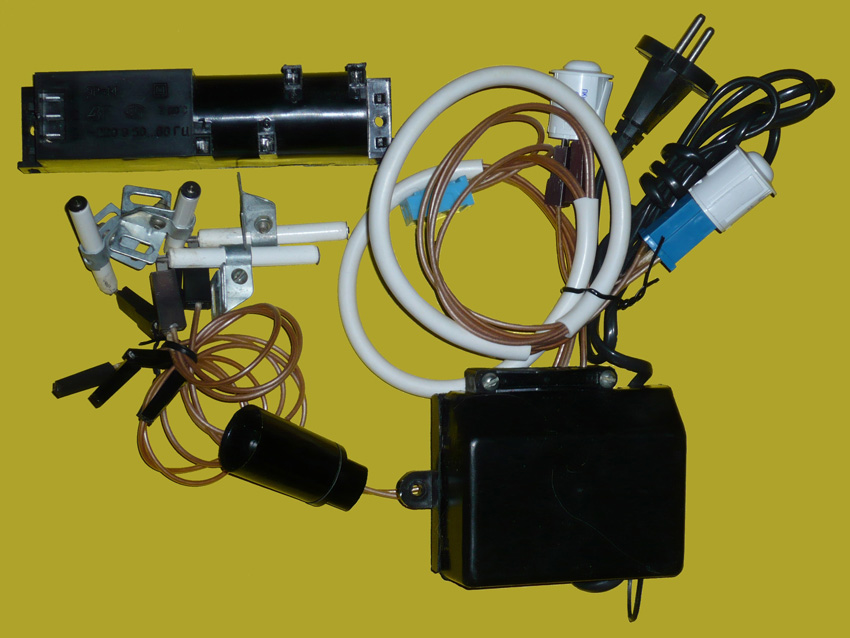 Ремонт электроподжига гефест