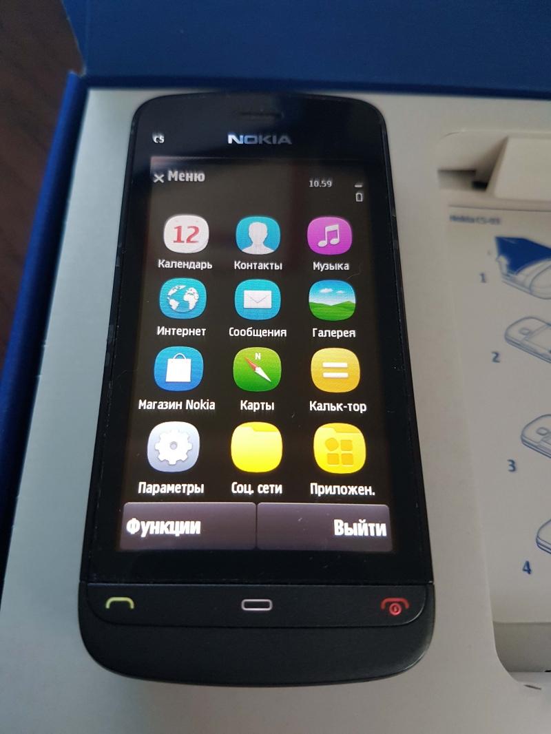 Nokia C5-06 оригинал сделанный в Европе