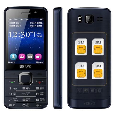 Мобильный телефон SERVO 9500 4 sim карты