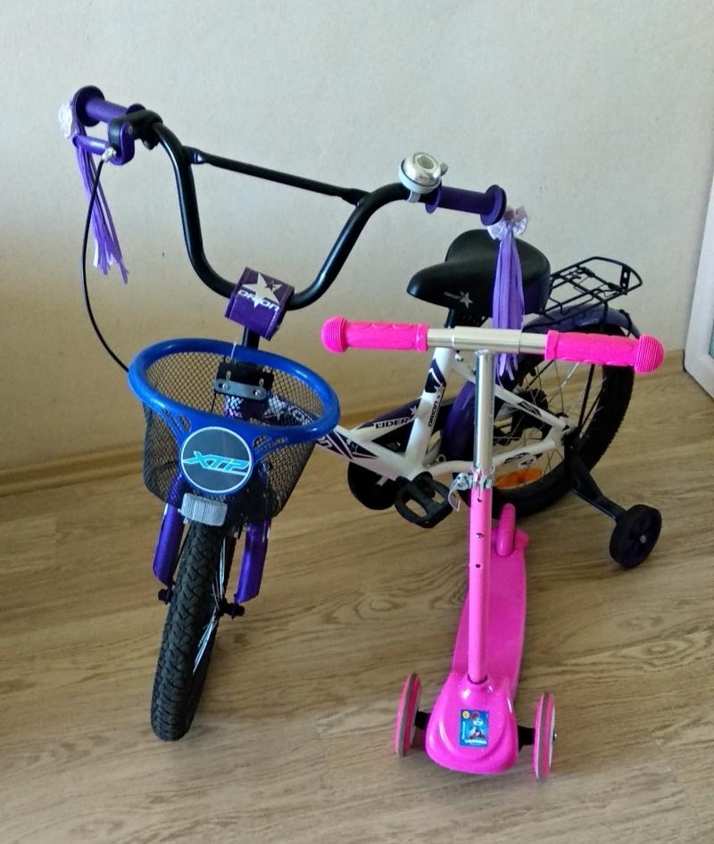 Двухколесный велосипед Velolider 16